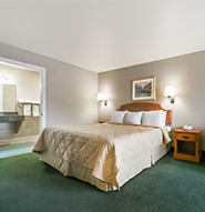 Days Inn Granbury - King Bedroom